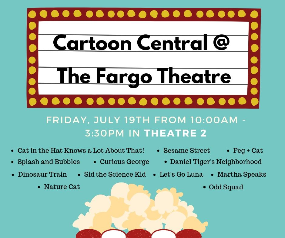 Cartoon Central @ The Fargo Theatre