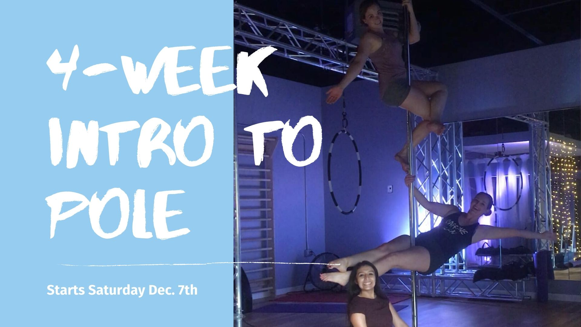 4-Week Intro to Pole Series