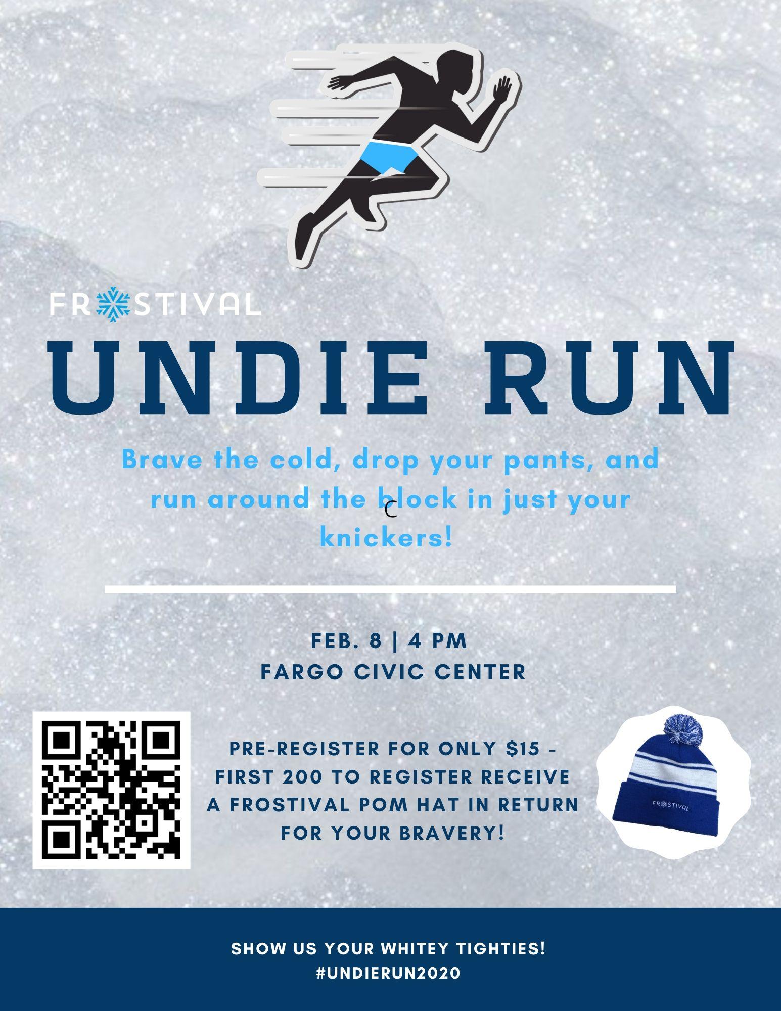 Undie Run Poster